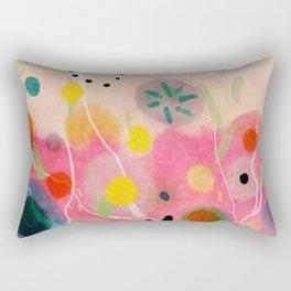 floral power abstract Rectangular Pillow