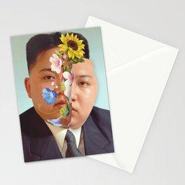 Kim Jong Un - Photo Manipulation Stationery Cards