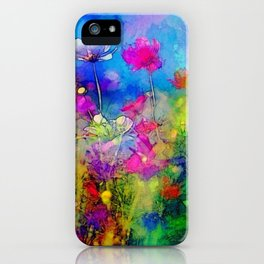 Just living is not enough... one must have sunshine, freedom, and a little flower. Hans Christian A iPhone Case