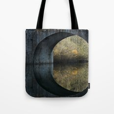 Eye of the bridge Tote Bag