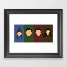 New Team Avatar Framed Art Print