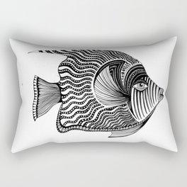 Emperor Angelfish Rectangular Pillow