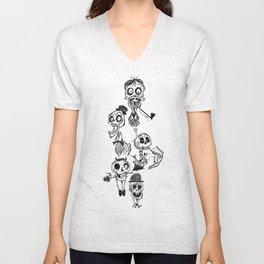 Bone Heads Unisex V-Neck