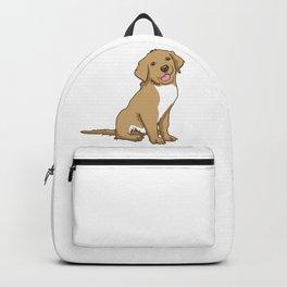 Golden Retriever Puppy Hound Gift Backpack