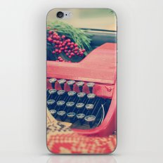 December moments iPhone & iPod Skin