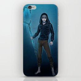 Dark Jack Frost iPhone Skin
