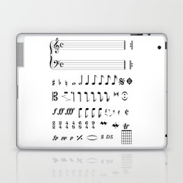 Musical Notation Laptop & iPad Skin