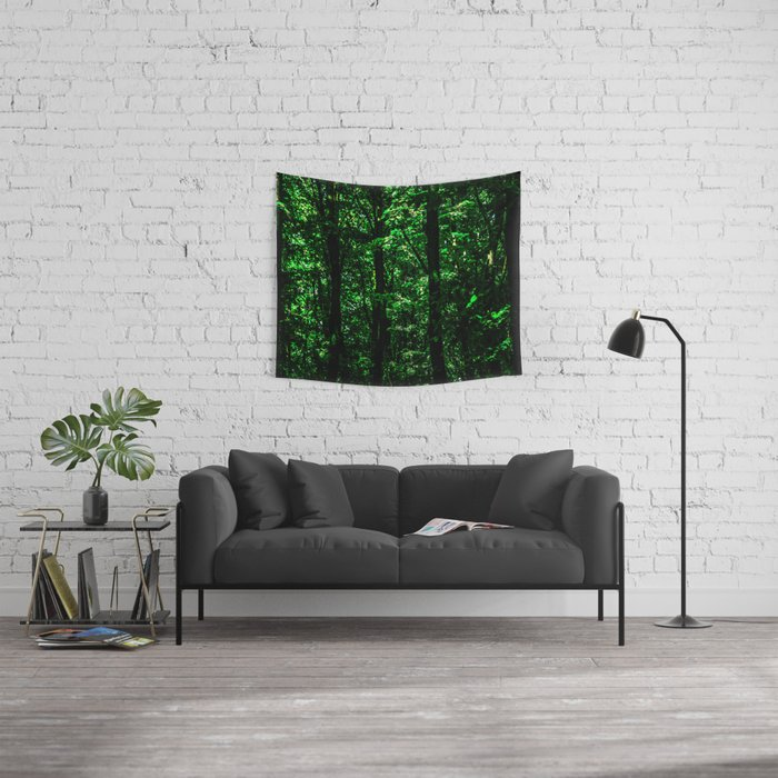 Lost In The Forest Wall Tapestry