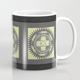 Alligator hibiscus medallion Coffee Mug