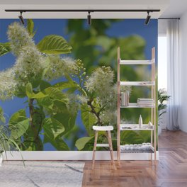 Mayday Tree in Bloom Wall Mural