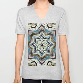 Eight Points of Texture Unisex V-Neck