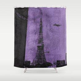 Japan 3 Shower Curtain