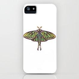 Spanish Moon Moth (Graellsia isabellae) iPhone Case
