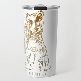 Bear Knuckles Travel Mug