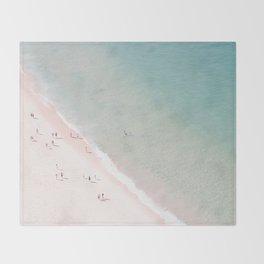 beach - summer of love Throw Blanket