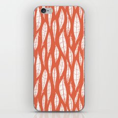 Quail Feathers (Poppy) iPhone & iPod Skin