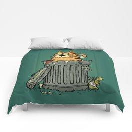 Stray cat Comforters