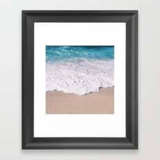 Beach Shore  Framed Art Print