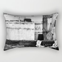 Destroyed - B/W Rectangular Pillow