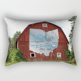 Bicentennial Barn VI Rectangular Pillow