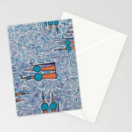 Kuwait twirl Stationery Cards