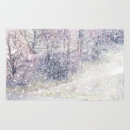 Snow in early fall(2). Rug