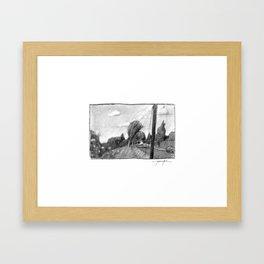 Sellwood Stroll Framed Art Print