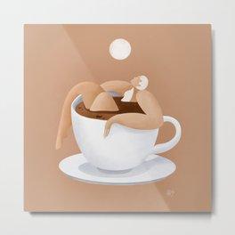 Caffeinated  Metal Print