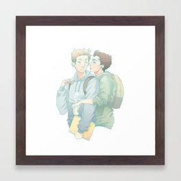 love is talkin in a whisper Framed Art Print