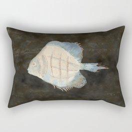 Australian Exotic Fish - Vintage Earth Tones Rectangular Pillow