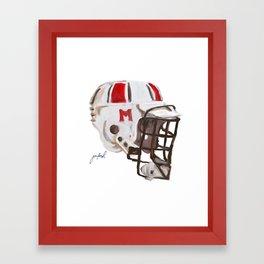 Maryland Bucket Framed Art Print