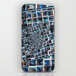 Abstract Infinity iPhone Skin