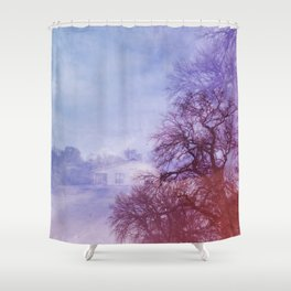 """Trust In Me.""  Shower Curtain"
