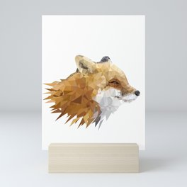 Nature Splinters Fox Graphic Art Gift Idea Mini Art Print