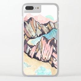 Solitary Beach Clear iPhone Case
