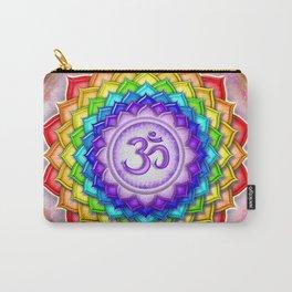 Sahasrara Chakra - Crown Chakra Rainbow Lotus - Series V Carry-All Pouch