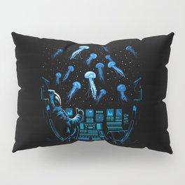 Astronaut Jellyfish Pillow Sham