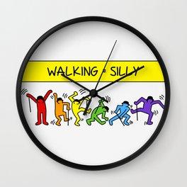 Pop Shop Silly Walks Wall Clock