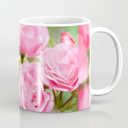 Beautiful pink roses bunch Coffee Mug