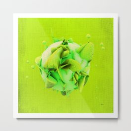 SPHeRe GLoP | RGB | GREEN Metal Print