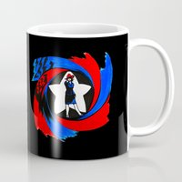 agent carter Mugs featuring Carter. Agent Carter. by Lydia Joy Palmer