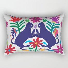 Otomi Cats Rectangular Pillow