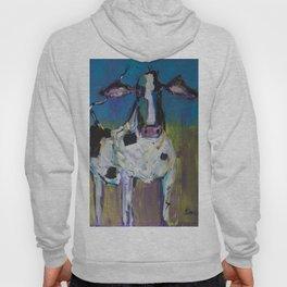 Abstract Holstein Hoody