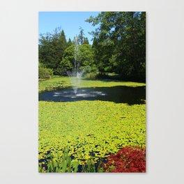 Van Dusen Botanical Garden Canvas Print