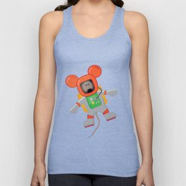 Space Mouse Unisex Tank Top