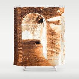 Bronzing An Alleyway In Hammond #2 Shower Curtain