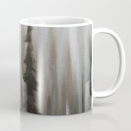 Pacific Northwest Forest oil painting by Jess Purser Coffee Mug