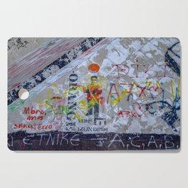 Graffiti on Concrete Cutting Board
