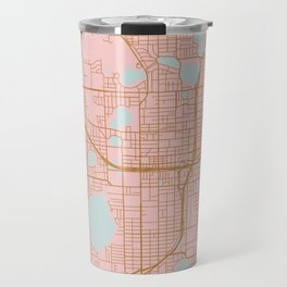 Orlando map, Florida Travel Mug