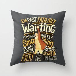 Smashing Every Expectation Throw Pillow